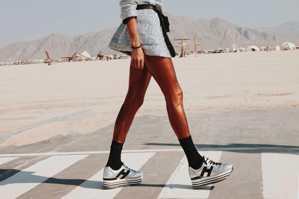 Sneakers Maxi H222 der Plateauschuh für jeden Anlass